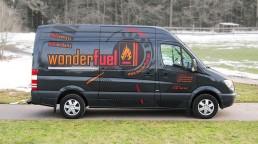 pixelclinic-Fahrzeugbeschriftung-Folierung-Transporter-Sprinter-Wonderfuel-Grosserlach
