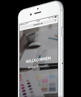 pixelclinic-iPhone-willkommen-mobile-webseite-responsive-startscreen-2017