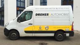 pixelclinic-Fahrzeugbeschriftung-Transporter-Dreher-Winnenden