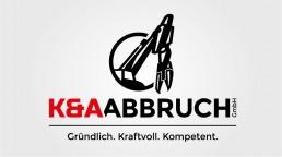 pixelclinic-Logo-Design-Grafik-K-und-A-Abbruch-Backnang