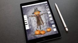 pixelclinic-konzept-zeichnung-helloween-ipad-adobe
